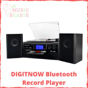 DIGITNOW Bluetooth Record Player