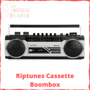 Riptunes Cassette Boombox